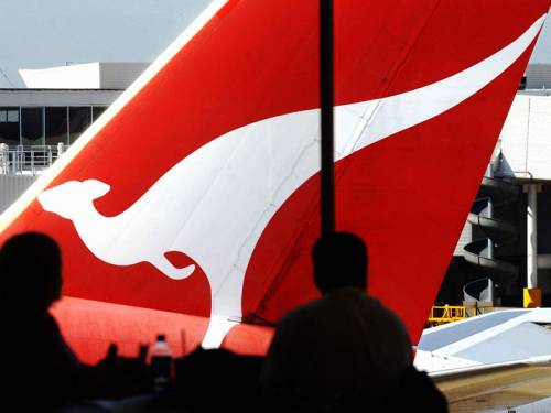 Qantas  issued a statement saying one of its pilots had been 'withheld from service ... for administrative reasons'. (AAP)
