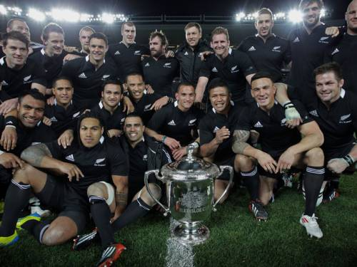 The All Blacks coach says Australia has no solution to stop NZ's dominance of the Bledisloe Cup. (AAP)