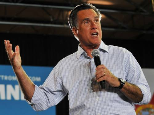 Under-pressure White House hopeful Mitt Romney released his 2011 tax return. (AAP)