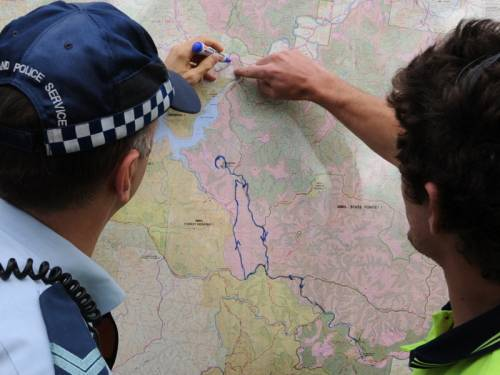 AMSA said the search - which had involved up to 16 helicopters and an aircraft - had been suspended. (AAP)