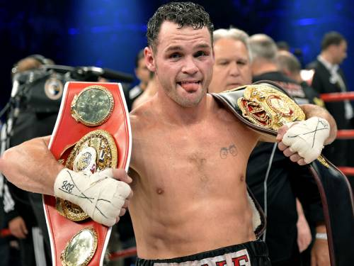 Australian boxer Daniel Geale has been stripped of his WBA middleweight Super boxing title. (AAP)