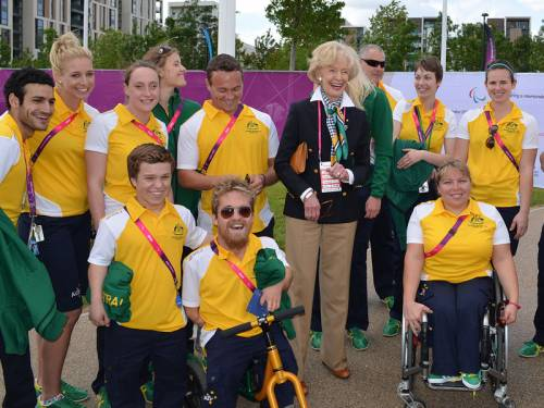 Governor General Quentin Bryce praised the spirit and camaraderie of our Paralympic Games athletes. (AAP)