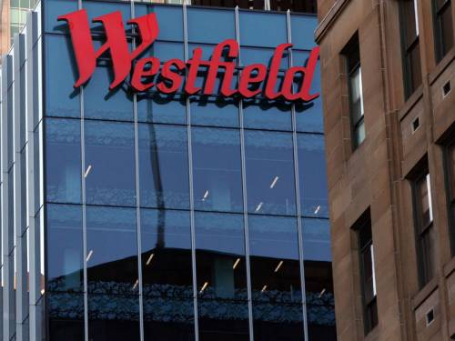 Shopping centre giant Westfield Group's half year profit is up more than 30 per cent. (AAP)