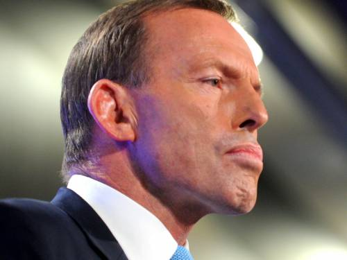 Opposition Leader Tony Abbott leads as preferred PM among western Sydney residents, a poll shows. (AAP)