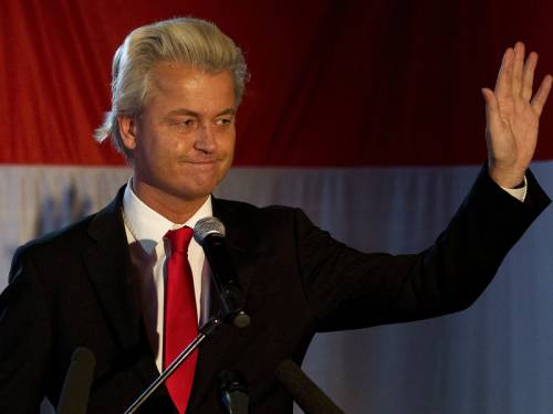 Controversial far-right Dutch MP Geert Wilders says he's open to meeting with any Australian politician who will have him. (AAP)
