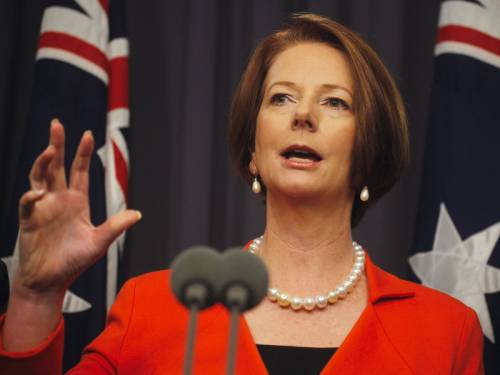 Ms Gillard confirmed the government will not continue funding the National Asian Language Program, initiated by her predecessor Kevin Rudd. (AAP)