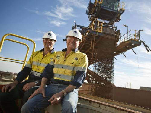 Iron ore producer Fortescue Metals Group posted a record full year net profit of $A1.49 billion. (AAP)