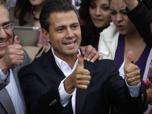 A lawyer with an MBA degree, Pena Nieto was elected to state congress in 2003, and in 2005 became governor of the state of Mexico. (AAP)