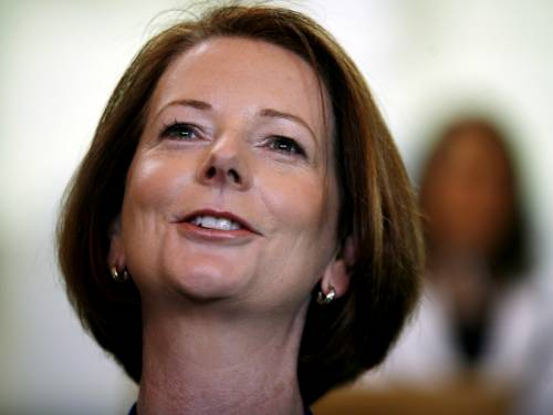 PM Julia Gillard is to focus on the global economy when she addresses the world leaders in Laos. (AAP)