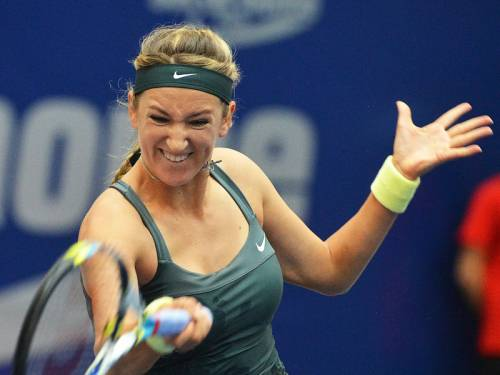 Victoria Azarenka has moved into the quarter-finals of the WTA event in Austria. (AAP)