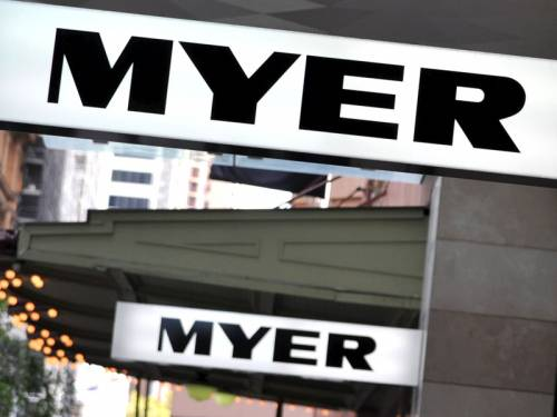 Myer's boss says traditional big retailers will dominate internet shopping within five years. (AAP)