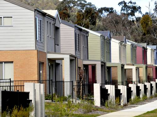 New home sales in Australia posted a modest rise of 0.7 per cent in May, an industry study shows. (AAP)