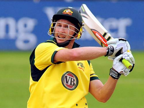 Batsman David Hussey is likely to be left out of Australia's World Twenty20 clash with Ireland. (AAP)
