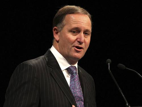 New Zealand Prime Minister John Key says he doesn't have a problem with gay ...