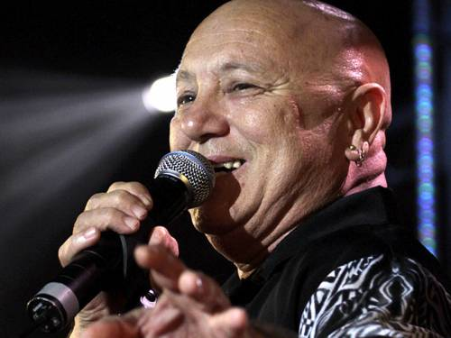 Former rock singer Angry Anderson (pic) says MP Peter Garrett encouraged him to enter politics. (AAP)