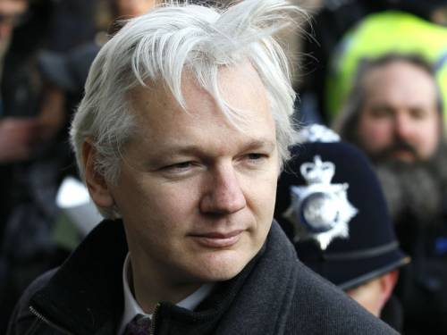 Assange, 41, took refuge at the London embassy on June 19 to avoid extradition to Sweden, where he faces police questioning over sexual assault allegations. (AAP)