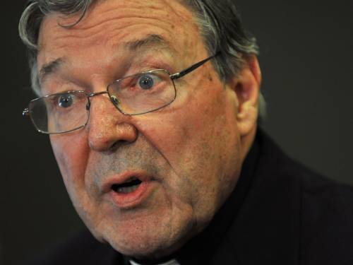 An inquiry has heard Cardinal George Pell showed a