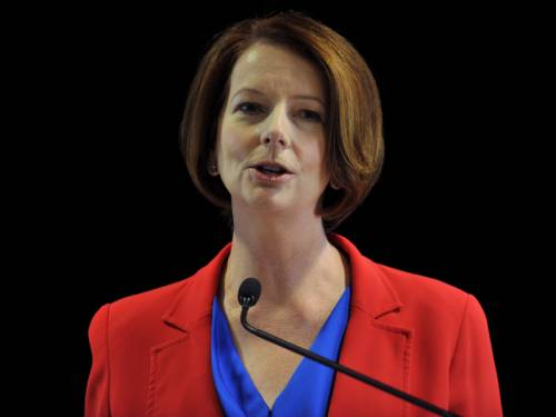 Prime Minister Julia Gillard has launched the government's long-awaited Asian century white paper. (AAP)