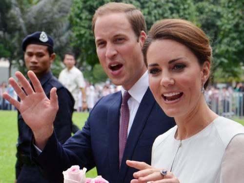 The Duke and Duchess of Cambridge will make a brief stopover at Brisbane airport on Wednesday. (AAP)