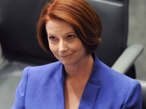 PM Julia Gillard says she won't be lectured on