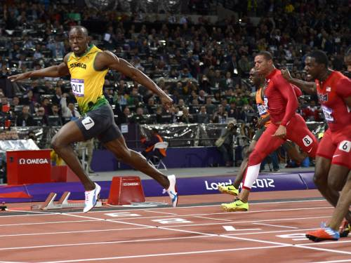 Jamaican sprint star Usain Bolt silenced his critics with a dominant win in the 100m Olympic final. (AAP)