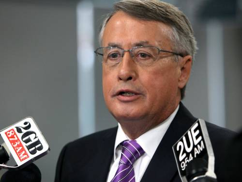 Federal Treasurer Wayne Swan says the budget task could be made harder by falling commodity prices. (AAP)