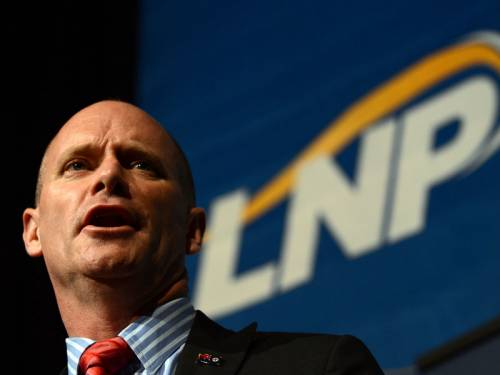 Queensland Premier Campbell Newman has announced a new ministerial code of conduct. (AAP)