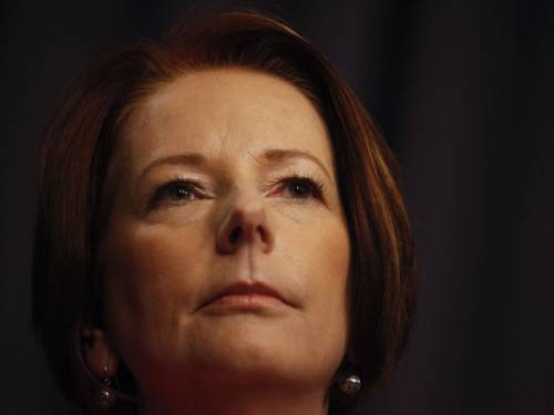 Labor's poll rating has risen and PM Julia Gillard has regained her lead as preferred leader. (AAP)