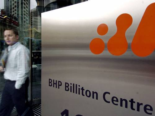 BHP Billiton has written down the value of its US shale gas assets by $US2.84 billion. (AAP)