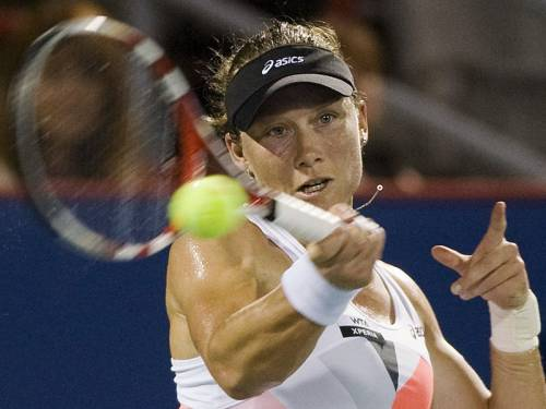 Samantha Stosur has safely progressed to the third round of the WTA event in Montreal. (AAP)