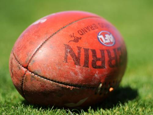 An AFL footballer has appeared in court charged with breaching an intervention order. (AAP)