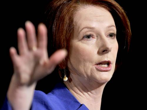 PM Julia Gillard will meet with Asia-Pacific leaders at a major summit in Russia this weekend. (AAP)