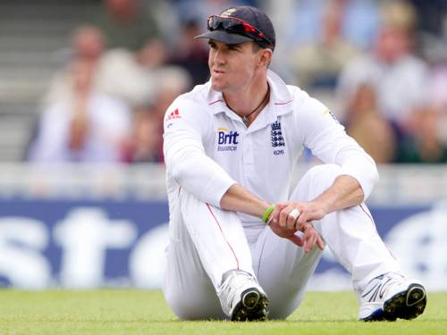 England batsman Kevin Pietersen faces a wait to learn if he will be part of their World T20 squad. (AAP)