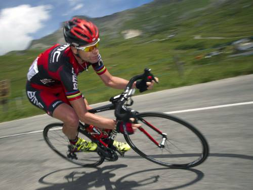 When riding in relatively flat stages, cyclists are required to overcome significant wind resistance. (AAP)