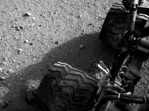 NASA's Mars rover is preparing to start collecting and examining rocks on the Red Planet. (AAP)