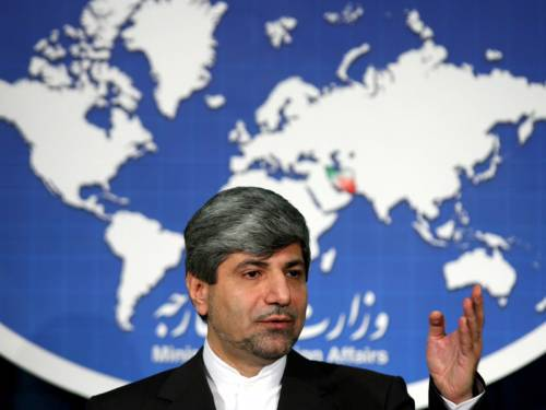 Iran's foreign ministry spokesman says the nation is ready to