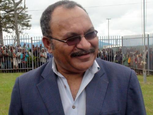 Peter O'Neill is likely to be elected PM of PNG after attempts to stop parliament sitting failed. (AAP)