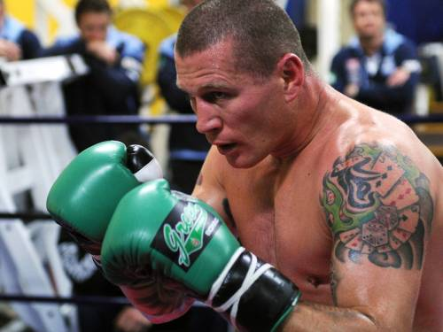 Danny Green (pic) will defend his IBO world cruiserweight title against New Zealander Shane Cameron. (AAP)