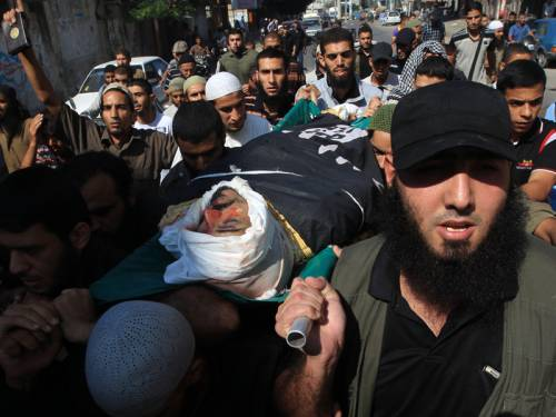 Israeli strikes targeting militants in Gaza have killed five people including a top Salafist leader. (AAP)