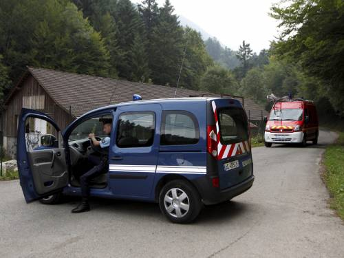 French police say three of the four victims of a shooting in the Alps were British tourists. (AAP)
