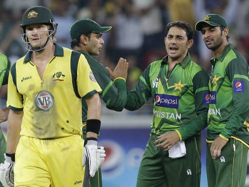 Australia are already two-nil down in their three-match Twenty20 series against Pakistan. (AAP)