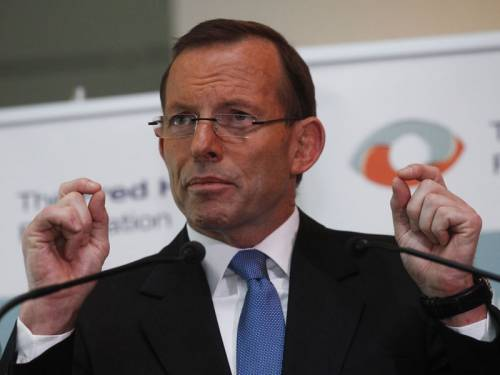Tony Abbott has conceded the introduction of the carbon tax has not immediately been catastrophic. (AAP)