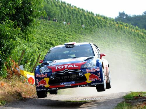 Nine time World Rally champion Sebastien Loeb is leading the Rally of Italy in Sardinia. (AAP)