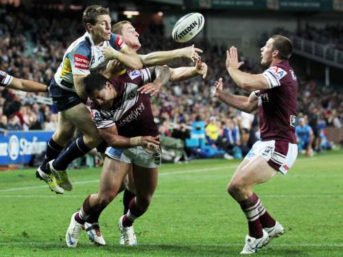 Defending premiers Manly are planning a Victorian smash and grab mission when they meet Melbourne. (AAP)