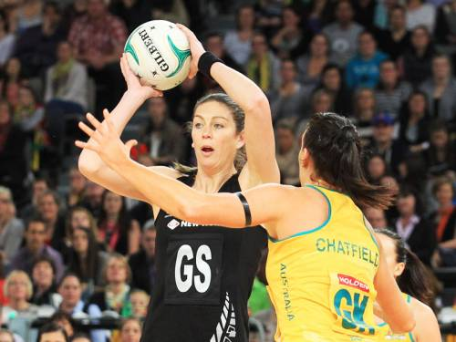 NZ have taken a 1-0 lead in their best-of-three Constellation Cup netball series against Australia. (AAP)