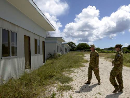 Nauru will be capable of housing 500 asylum seekers by the end of September, the government says. (AAP)