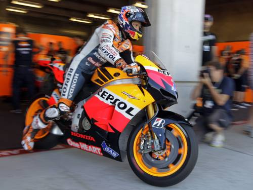 Australian rider Casey Stoner will contest the Indianapolis MotoGP despite an ankle injury. (AAP)