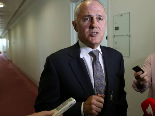 Liberal MP Malcolm Turnbull (pic) says broadcaster Alan Jones is getting a dose of his own medicine. (AAP)