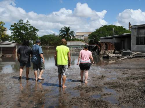 Queenslanders have been offered disaster assistance to aid their recovery from the flood crisis. (AAP)