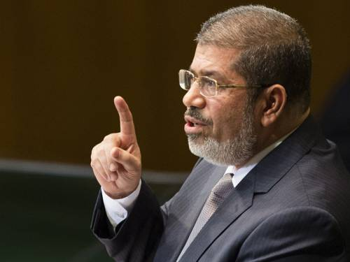 Egypt's President Mohamed Morsi has pardoned all those convicted for supporting the revolution. (AAP)
